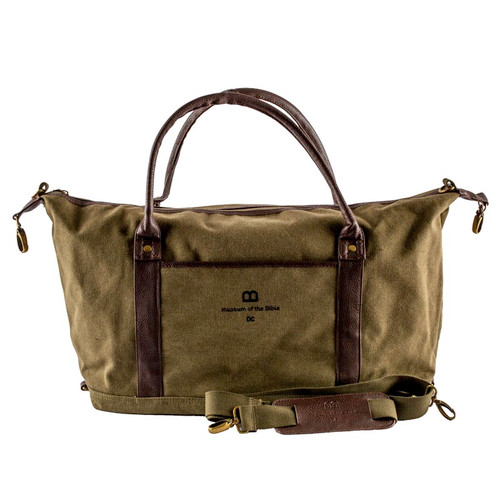 Green Duffle Bag - Museum of the Bible