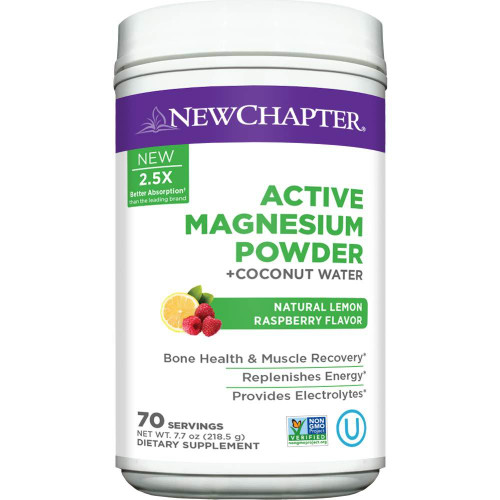 New Chapter Active Magnesium Powder + Coconut Water