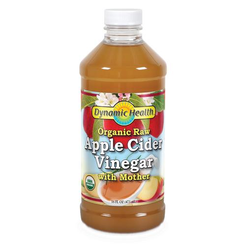 Dynamic Health Organic Raw Apple Cider Vinegar with Mother