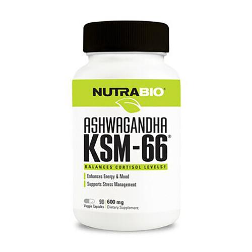 Nutrabio Labs Ashwagandha KSM-66