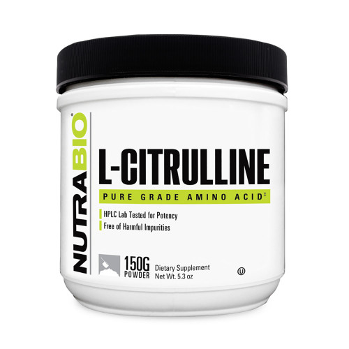 Nutrabio Labs Citrulline Powder 150g