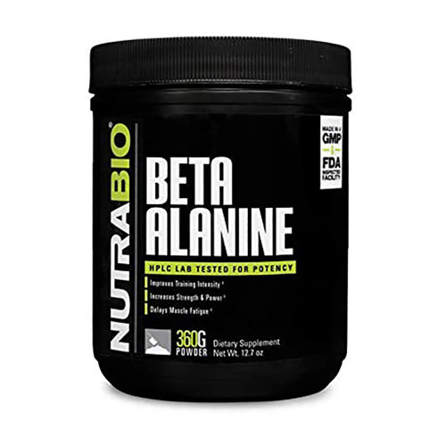 Nutrabio Labs Beta Alanine 360g
