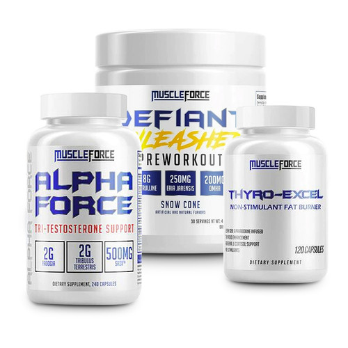 MuscleForce 'Performance' Stack