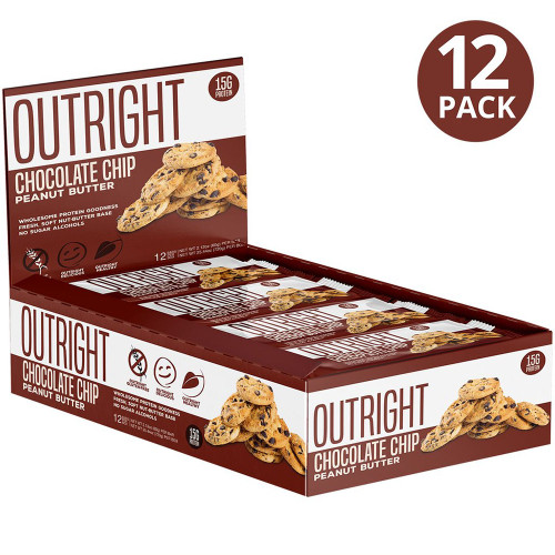 MTS Nutrition OUTRIGHT REAL WHOLE FOOD PROTEIN BAR