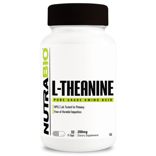 Nutrabio Labs L-Theanine (200mg)