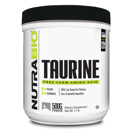 Nutrabio Labs Taurine Powder 500g