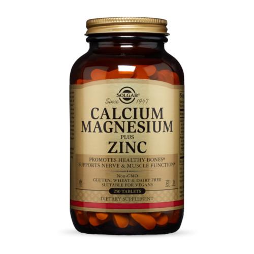 Solgar Calcium Magnesium + Zinc