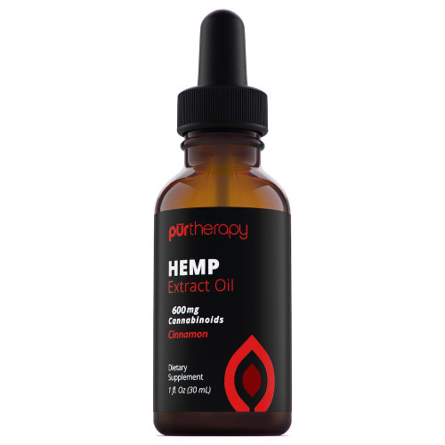 PurTherapy Hemp Extract Oil Full Spectrum CBD