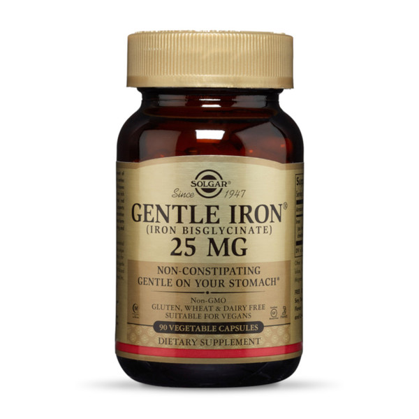 Solgar Gentle Iron 25mg