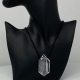 Clear Quartz Pendant by Lawrence Stoller