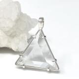 Vogel Crystal Star of David in Zambian Clear Quartz Pendant