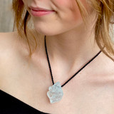 Aquamarine Pendant by Lawrence Stoller
