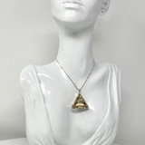 Vogel Crystal Star of David Pendant in Zambian Smoky Quartz, Medium