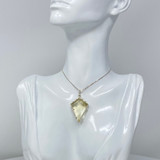 """""""The Guardian"""" African Citrine Pendant set in Sterling Silver"""