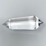 Clear Quartz Crystal Wand Generator with 36 Facets, 197.5g
