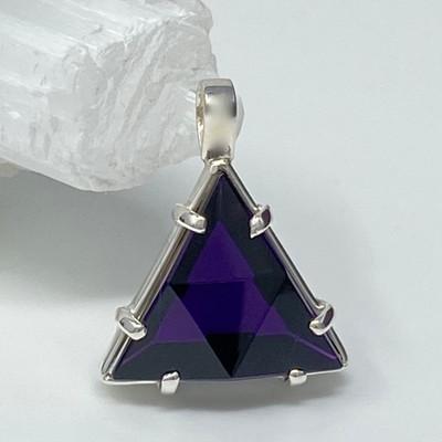 Siberian Purple Vogel Crystal Star of David
