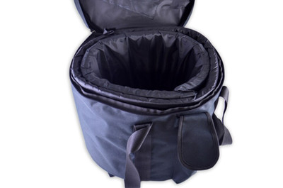 Crystal Singing Bowl Carrying Case - Black S, M, L