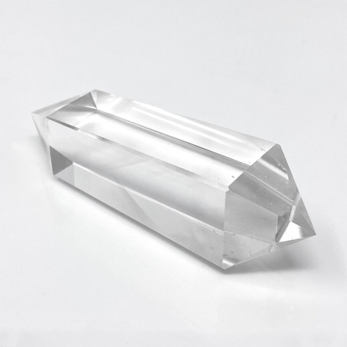 Brazilian Clear Quartz Wand Generator , 4 facets