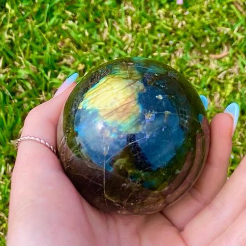 Labradorite Meditation Sphere Large