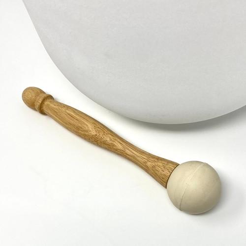 Rubber Mallet for Crystal Singing Bowls