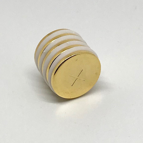 Gold Plated Neodymium Therapy Magnets (5-pack)