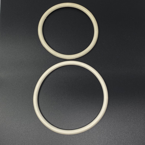 White Rubber O Ring-Large