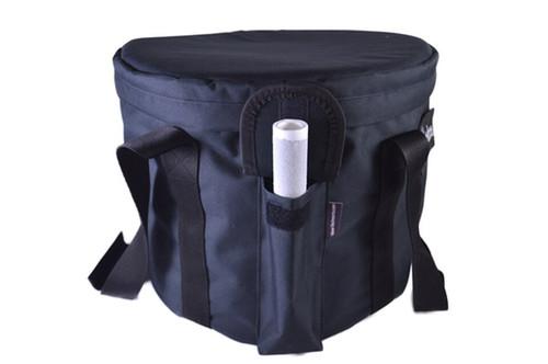 Crystal Singing Bowl Carrying Case - Black S, M, L, XL