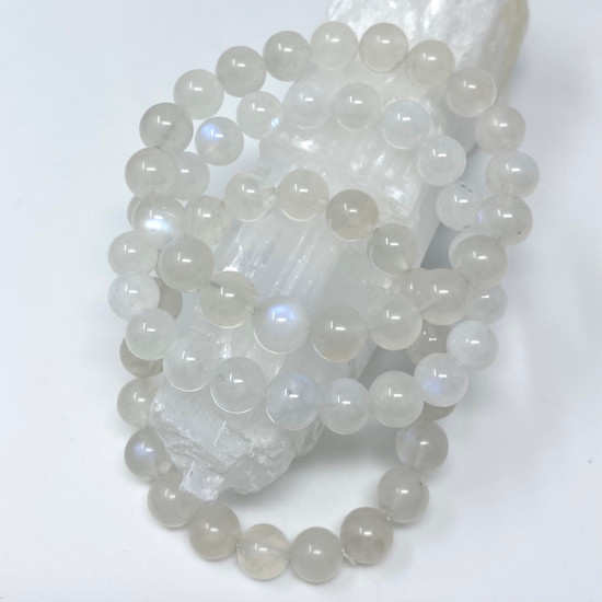 Blue Light Moonstone Bracelets