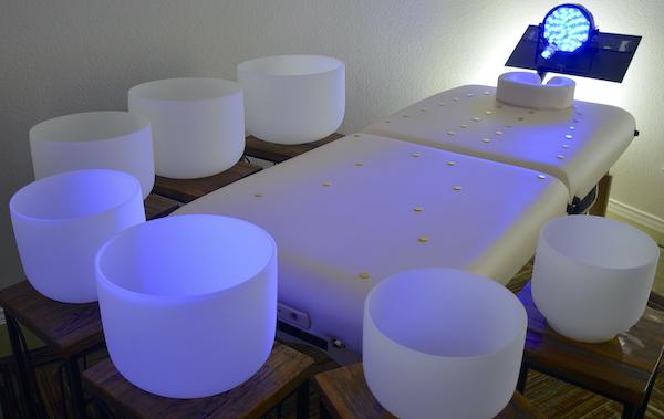 Custom Crystal Bed Remote Healing