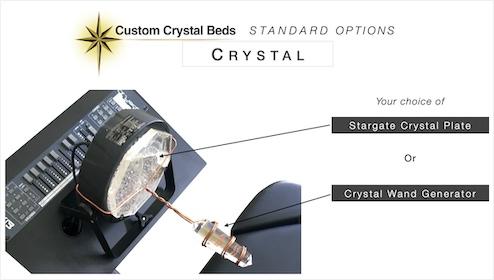 Custom Crystal Bed Choice of Crystal