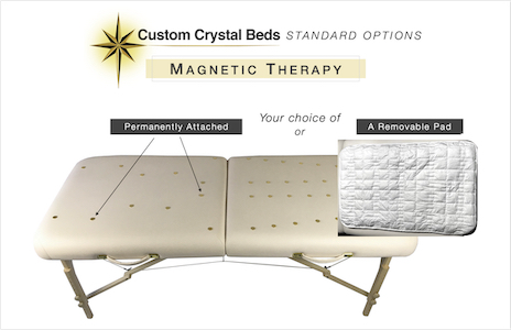 Custom Crystal Bed Magnetic Therapy
