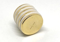 Gold Plated Neodymium Therapy Magnets