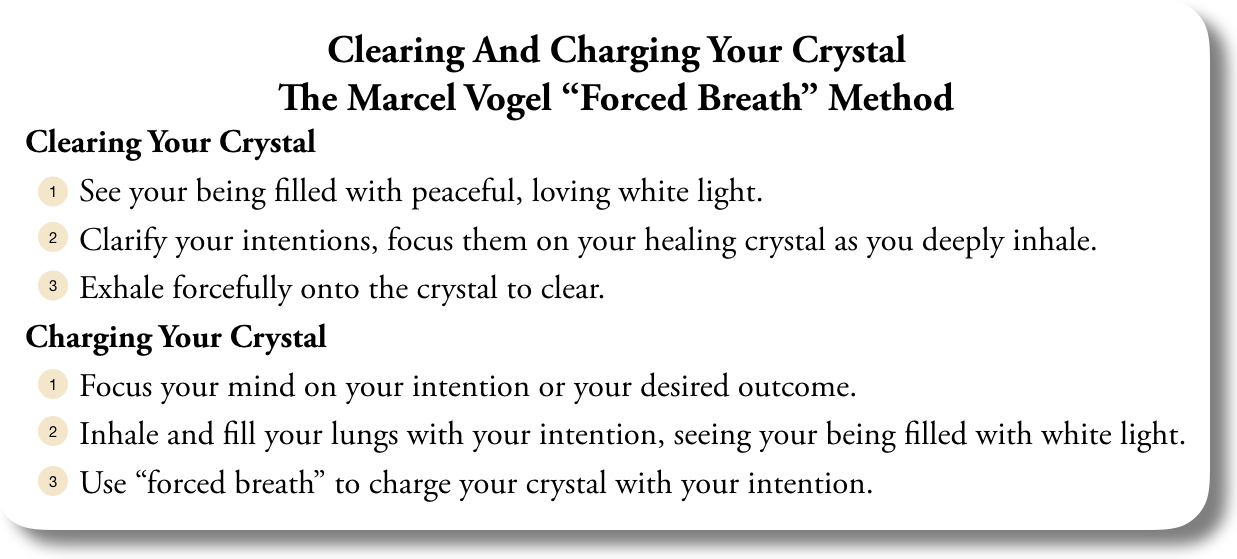 How to Clear and Charge Healing Crystals