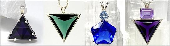 Cultured Crystal Pendants