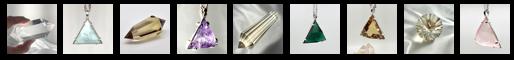 Row of Healing Crystals