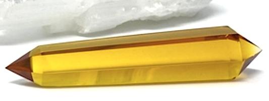 Siberian Gold Crystal Wand