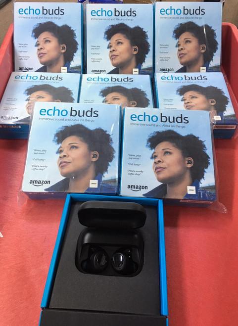 Echo Buds Charging Case Bluetooth Headphone (New) Black