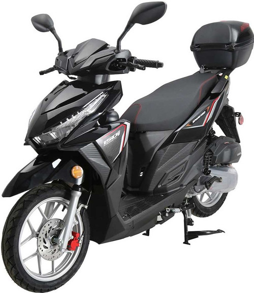 Model: Vitacci Spark 150 Engine: GY6 type single-cylinder, 4-stroke, air-cooled