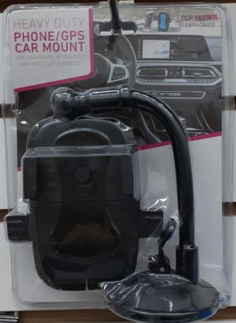Tablet and Phone Ccar holder F3 (Black)
