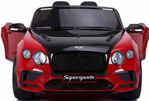 Bentley Continental Supersport kids Car - Red