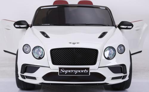 Bentley Continental Supersport kids Car - White