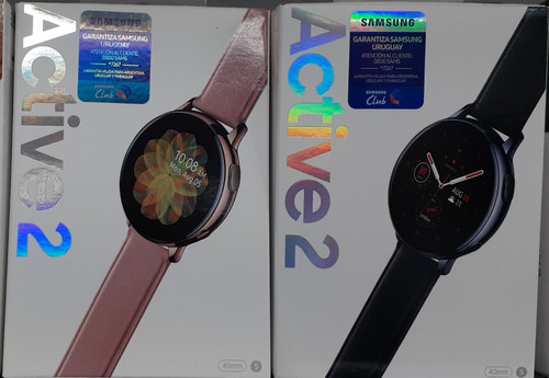Samsung Watch Active 2 40mm - Black Stainless Steel