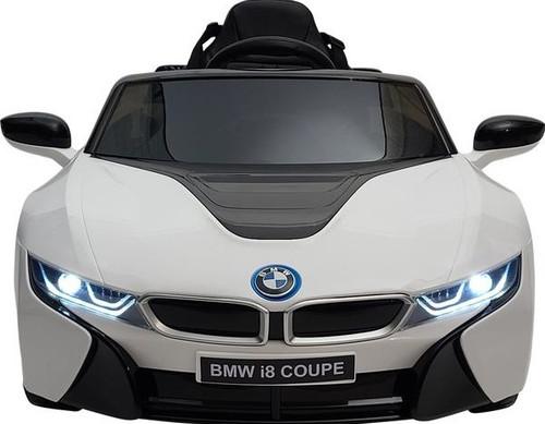 BMW i8 12V Kids Battery Powered Ride On Car - White