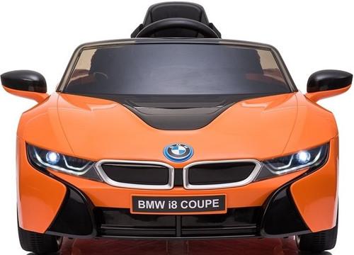 BMW i8 Kids Battery Powered Ride On Car - Orange