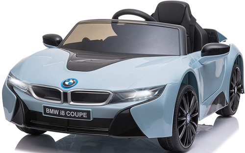 BMW i8 Kids Battery Powered Ride On Car - Blue