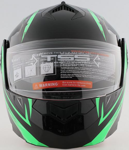 Helmets - New Black/Green