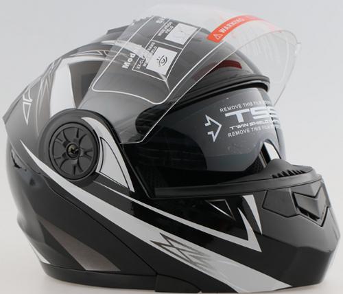 Helmets - New Black/White