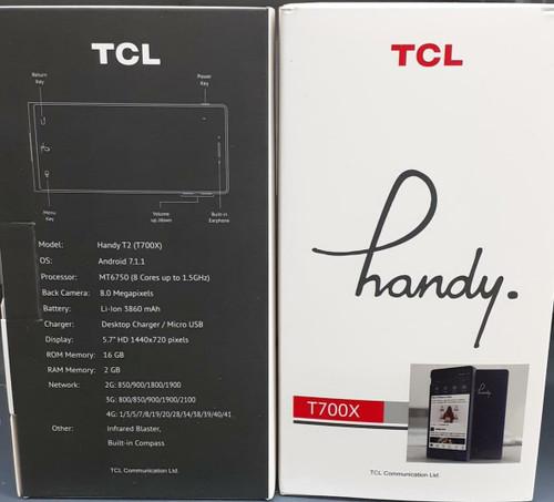 TCL Handy T2 4G - Black