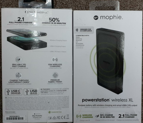 Power Station Wireless XL by Mophie
