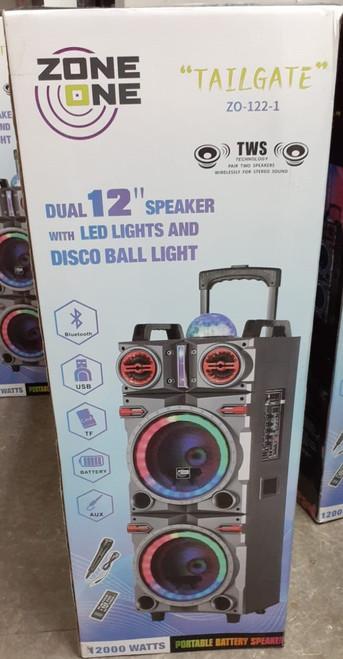 Zone One Tailgate Bluetooth Speaker